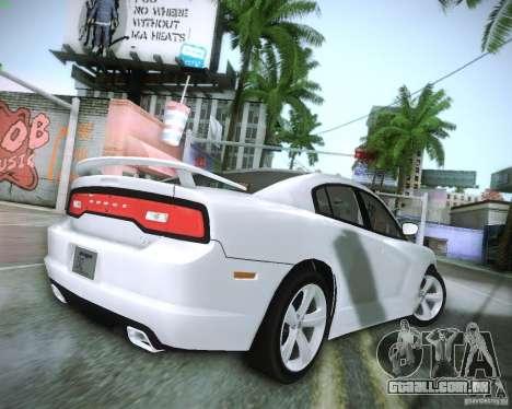 Dodge Charger 2011 v.2.0 para GTA San Andreas vista direita