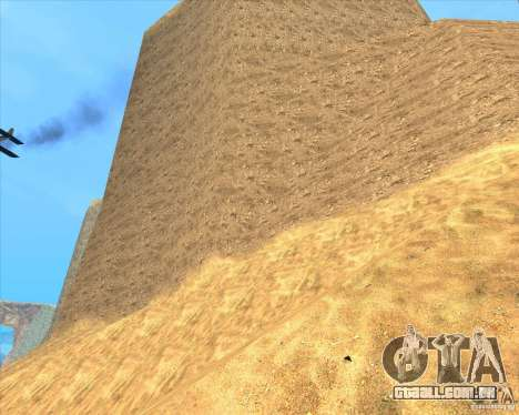 Desert HQ para GTA San Andreas quinto tela