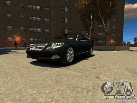 Lexus LS600 V2.0 para GTA 4