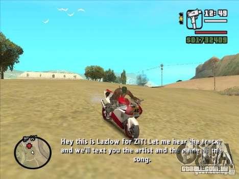 ZiT para GTA San Andreas terceira tela