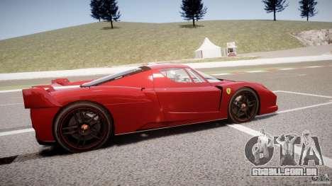 Ferrari FXX para GTA 4 esquerda vista
