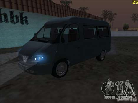 22172 gás sable para GTA San Andreas