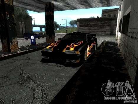 Vinil Rèjzora de Most Wanted para GTA San Andreas vista interior
