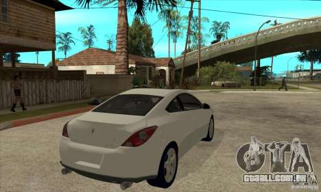 Pontiac G6 Stock Version para GTA San Andreas vista direita