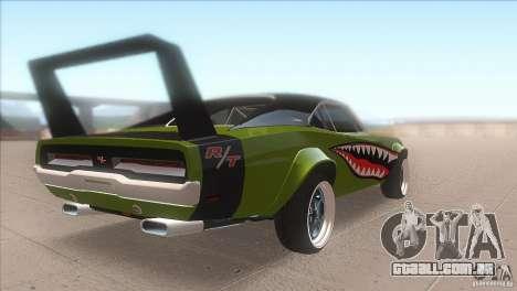 Dodge Charger RT SharkWide para GTA San Andreas vista direita
