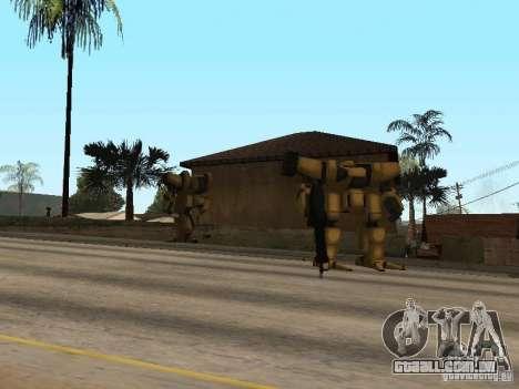 Transformadores para GTA San Andreas segunda tela