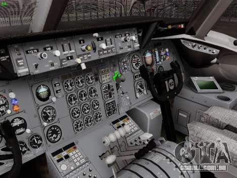 McDonell Douglas DC-10-30 Alitalia para GTA San Andreas vista superior