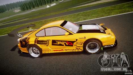 Nissan S330SX GT Drift Texture para GTA 4 esquerda vista