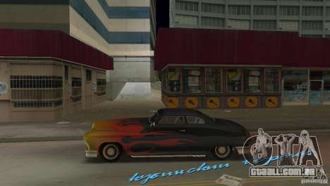 Cuban Hermes HD para GTA Vice City deixou vista
