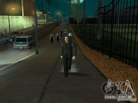 Black Stallion Peds para GTA San Andreas sexta tela