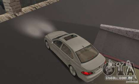 Faróis brancos brilhantes para GTA San Andreas