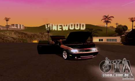Dodge Challenger SRT8 2009 para GTA San Andreas vista interior