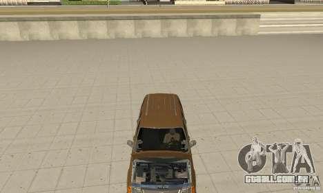 Ford Explorer 2002 para GTA San Andreas vista interior