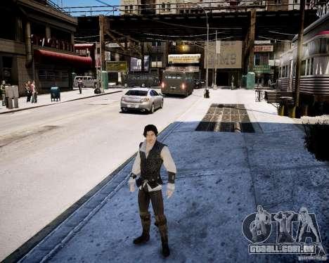 Assasins Creed 2 Young Ezio para GTA 4 quinto tela