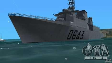 Fregate F70 ASM para GTA Vice City