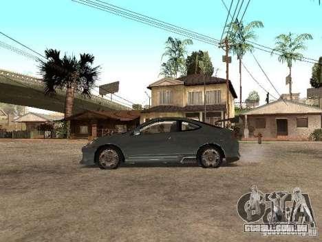 Acura RSX Charge para GTA San Andreas esquerda vista