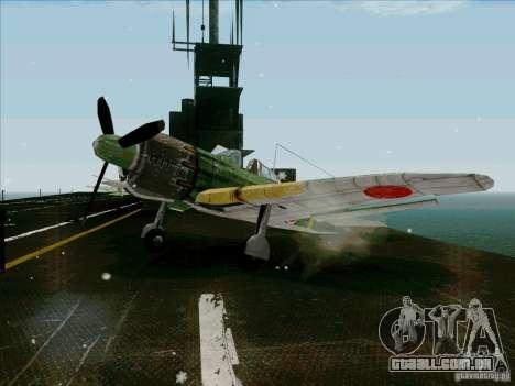 Aviões japoneses para GTA San Andreas