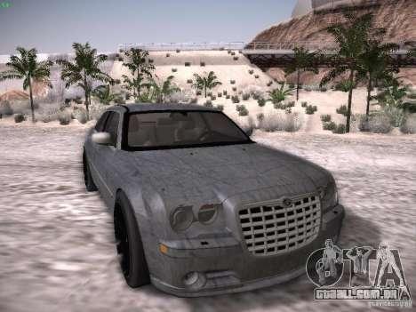 Chrysler 300C SRT8 para GTA San Andreas vista inferior