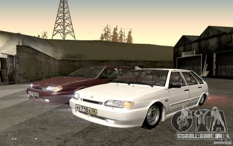 ВАЗ 2114 qualidade para GTA San Andreas vista direita