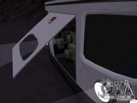SULCO 672.60 para GTA San Andreas traseira esquerda vista