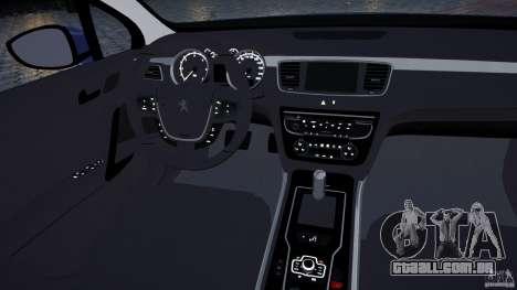 Peugeot 508 Final para GTA 4 vista lateral