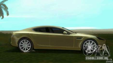 Aston Martin Rapide para GTA Vice City deixou vista
