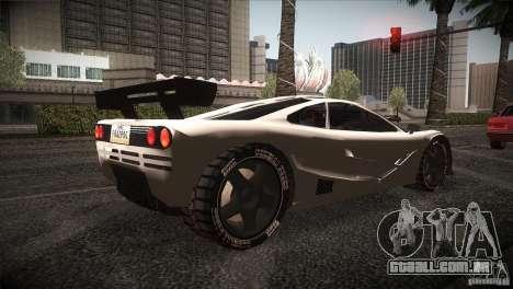 McLaren F1 LM para GTA San Andreas vista direita