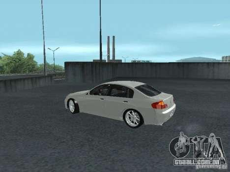 Nissan Skyline 300 GT para GTA San Andreas esquerda vista