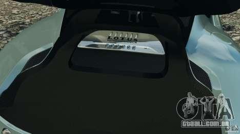 Lotus Evora 2009 v1.0 para GTA 4 vista lateral