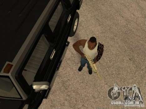 Sistema de alarme para carros para GTA San Andreas segunda tela
