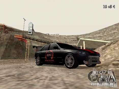 Toyota Altezza NKS Drift para GTA San Andreas vista traseira