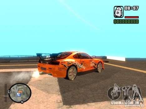 NISSAN Silvia S15 RFteam drifters para GTA San Andreas esquerda vista