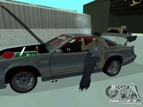 Buffalo Racer 2008 para GTA San Andreas traseira esquerda vista