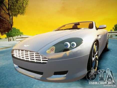 Aston Martin DB9 Volante v2.0 para GTA 4 vista direita
