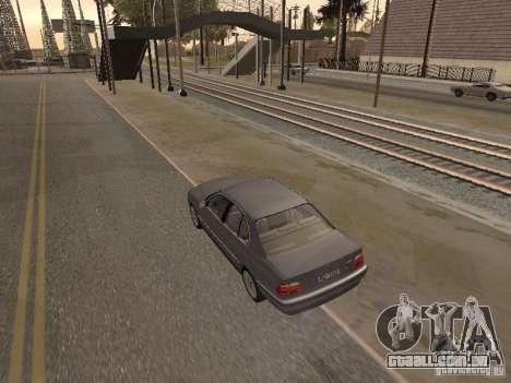 BMW 740 para GTA San Andreas esquerda vista