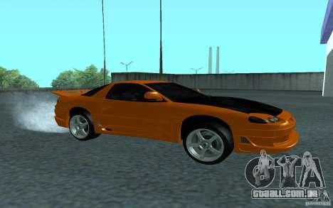 Mitsubishi 3000GT para GTA San Andreas vista traseira