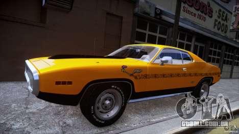 Plymouth GTX 426 HEMI [EPM] v.1.0 para GTA 4 vista de volta
