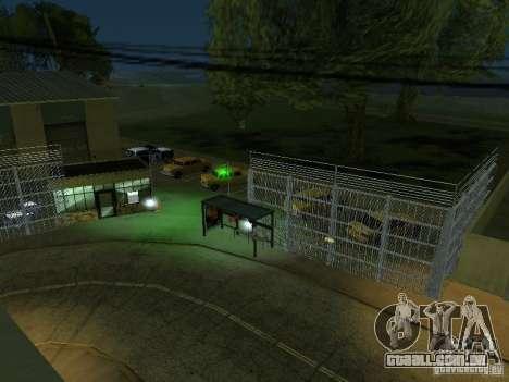 O primeiro táxi Parque versão 1.0 para GTA San Andreas sexta tela