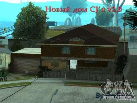 CJâ casa nova para GTA San Andreas