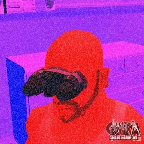 Goggles HD para GTA San Andreas segunda tela