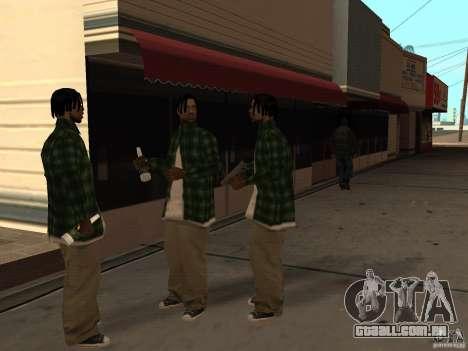 Pak versão doméstica de armas 3 para GTA San Andreas oitavo tela