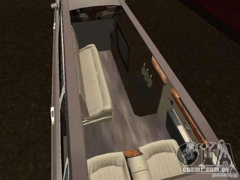 Rolls-Royce Phantom Limousine 2003 para GTA San Andreas traseira esquerda vista