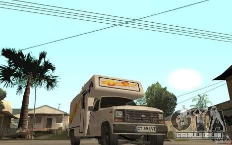 Ford F150 Carvana Dragostei para GTA San Andreas vista traseira