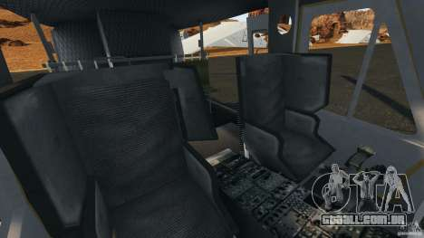 Bell UH-1 Iroquois para GTA 4 vista interior
