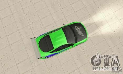 Mitsubishi Eclipse FnF para GTA San Andreas vista direita
