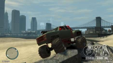 Bobcat megatruck 1.0 para GTA 4