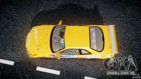 Nissan Skyline R34 GT-R Tezuka Goodyear D1 Drift para GTA 4 vista direita