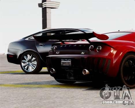 Ascari A10 2007 v2.0 para GTA 4 vista superior