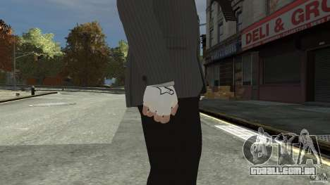 Gloves AlpineStar White para GTA 4 segundo screenshot