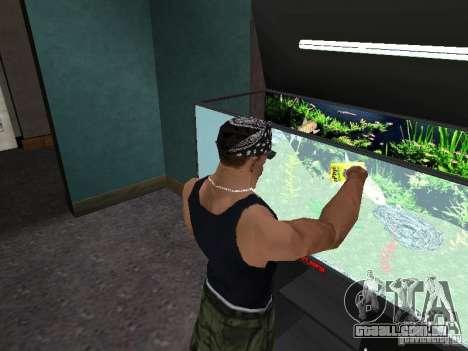 Aquário para GTA San Andreas sexta tela